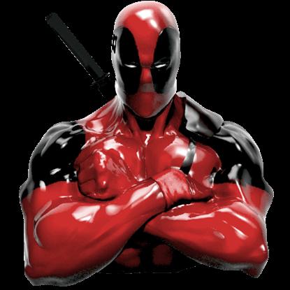 Deadpool Resin Coin Bank