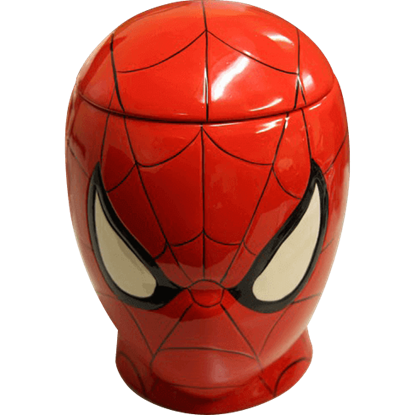 Spider-Man Head Cookie Jar