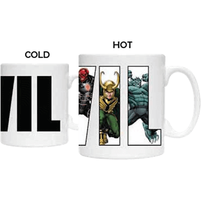 Avengers Villain Heat Change Mug