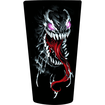 Marvel Comics Venom Drinking Glass