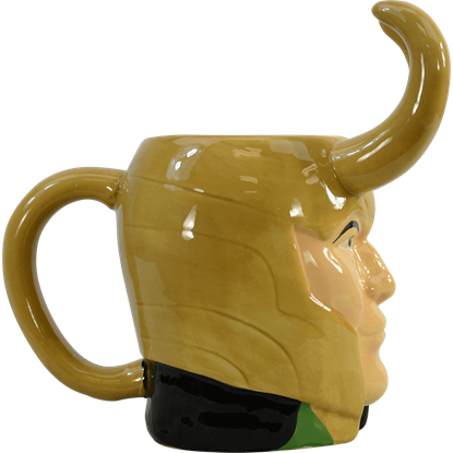 Loki Sculpted Mug