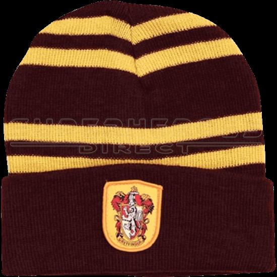 c52c48f740d Hogwarts Gryffindor House Beanie - LS2365 at Superhero T-shirts ...