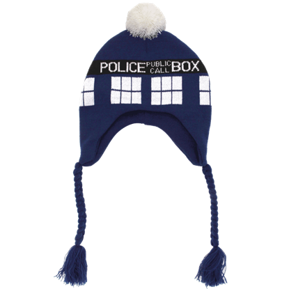 Doctor Who Laplander Knit Hat