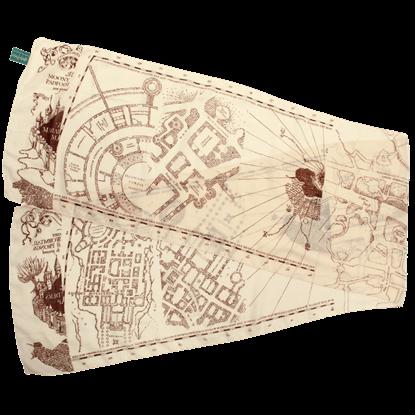 Harry Potter Marauders Map Lightweight Scarf
