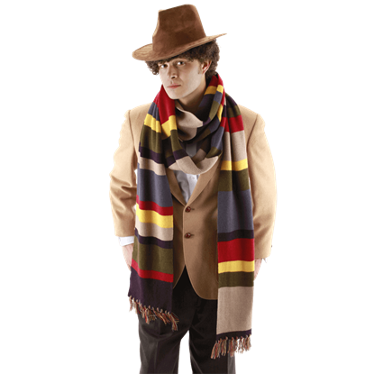 Fourth Doctor 12 Foot Deluxe Scarf