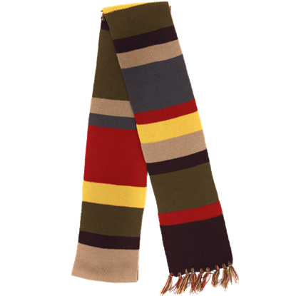 Doctor Who 4th Doctor Knit Scarf