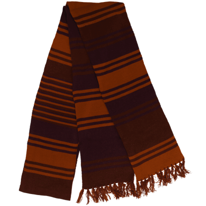 Doctor Who 4th Doctor Long Purple Knit Scarf