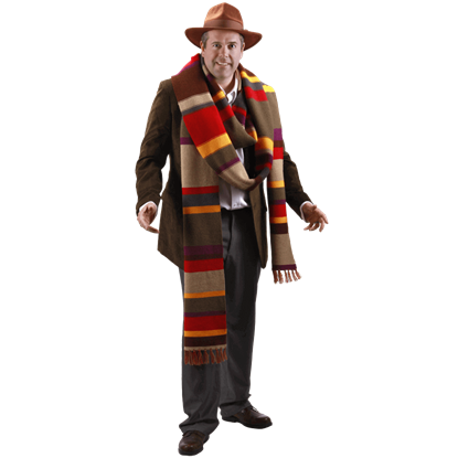 Doctor Who 4th Doctor Premium Knit Scarf
