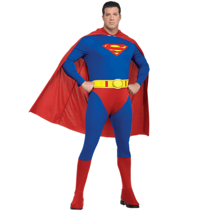 Adult Plus Size Superman Costume