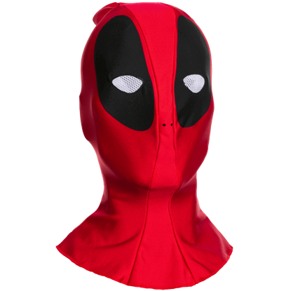 Adult Deadpool Fabric Mask