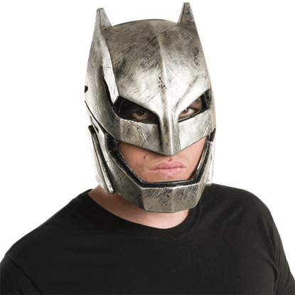 Adult Armoured Batman Half Mask