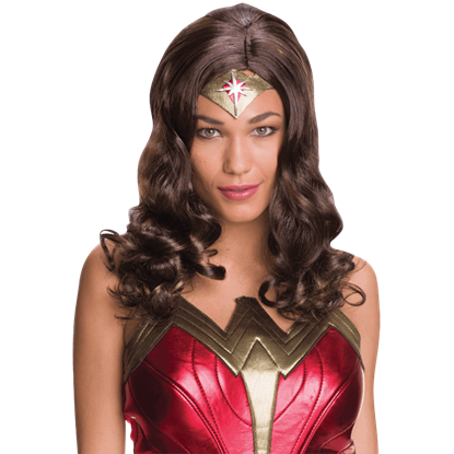 Adult Wonder Woman Wig