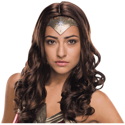 Adult Wonder Woman Deluxe Wig