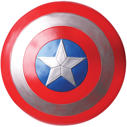 Adult Captain America Costume Shield