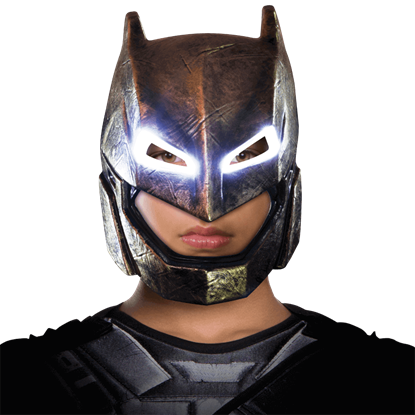 Adult Armoured Batman Light-Up Mask