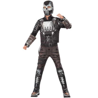 Kids Crossbones Half Mask