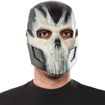 Adult Crossbones Half Mask