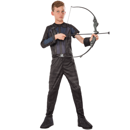 Kids Civil War Hawkeye Bow and Arrow Set