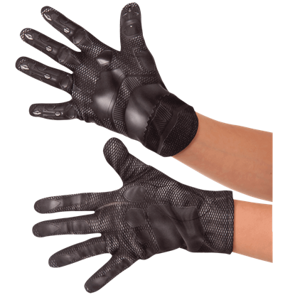 Kids Civil War Black Panther Gloves