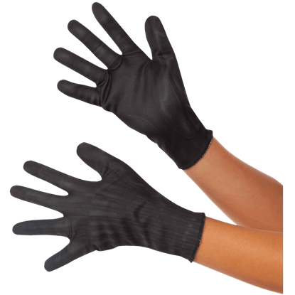 Adult Civil War Black Widow Gloves