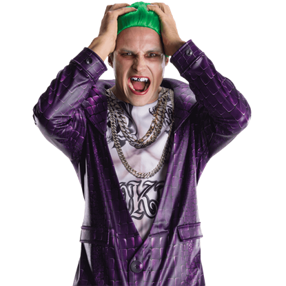 Adult Joker Costume Teeth