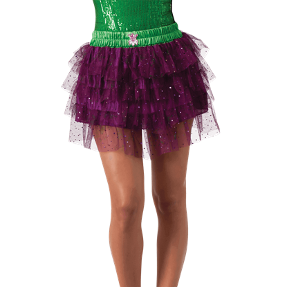 Adult Joker Sequin Skirt