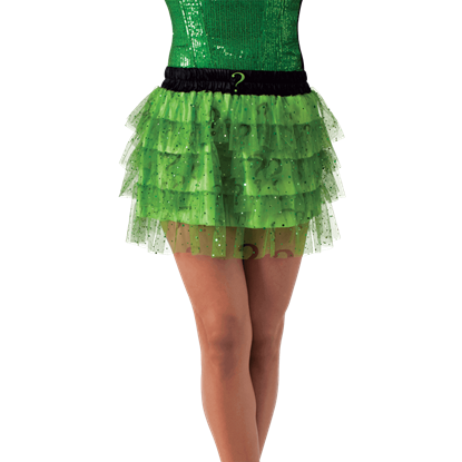 Womens Riddler Sequin Skirt