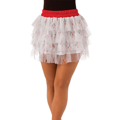 Adult Harley Quinn Sequin Skirt