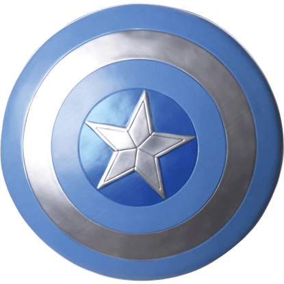 Adult Captain America Stealth Shield