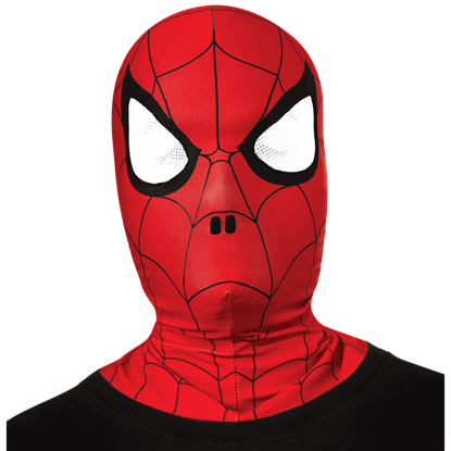 Kids Spider-Man Fabric Overhead Mask
