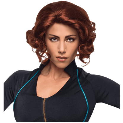 Adult Avengers 2 Black Widow Wig