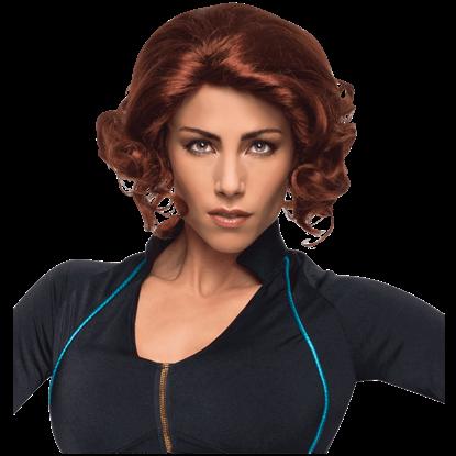 Adult Avengers 2 Black Widow Wig