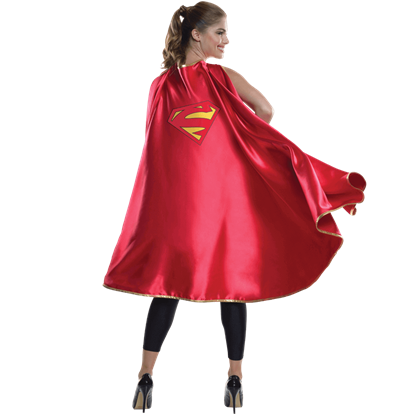 Adult Supergirl Deluxe Cape