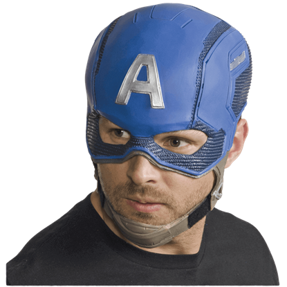 Adult Avengers 2 Captain America Full Mask