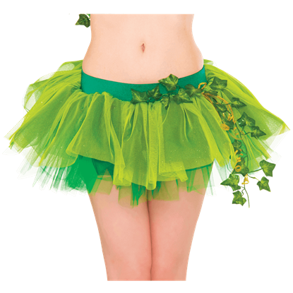 Adult Poison Ivy Tutu Skirt