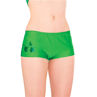 Womens Poison Ivy Boyshorts