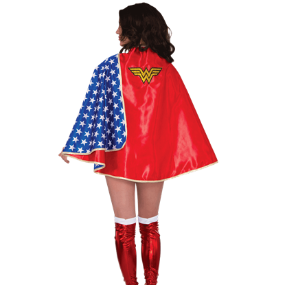 Adult Deluxe Satin Wonder Woman Cape