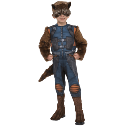 Toddler Rocket Raccoon Costume