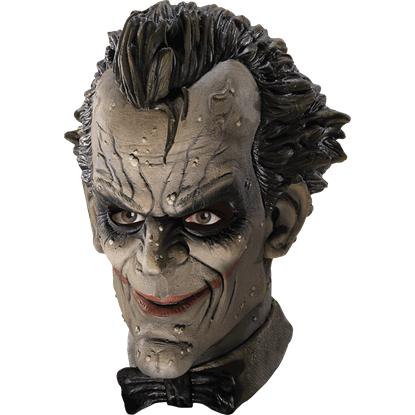 Arkham Joker Deluxe Vinyl Mask