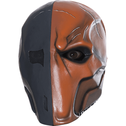 Arkham Deathstroke Deluxe Latex Mask