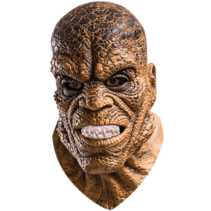 Deluxe Killer Croc Latex Mask