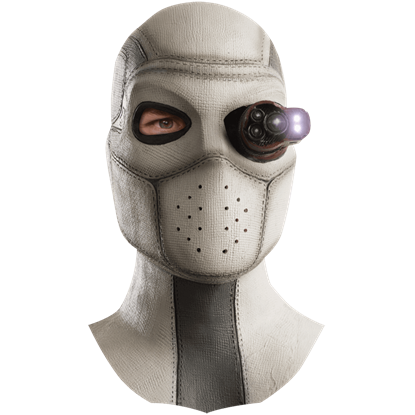 Adult Deadshot Light-Up Latex Mask