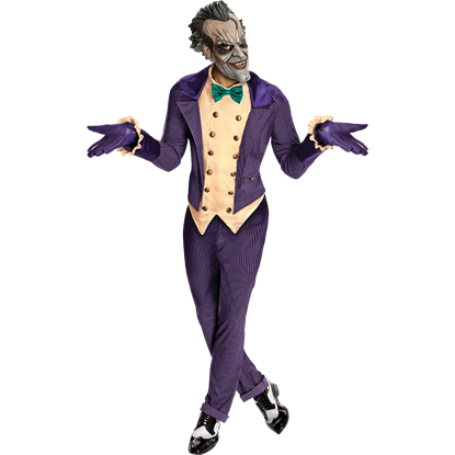Arkham City Joker Costume