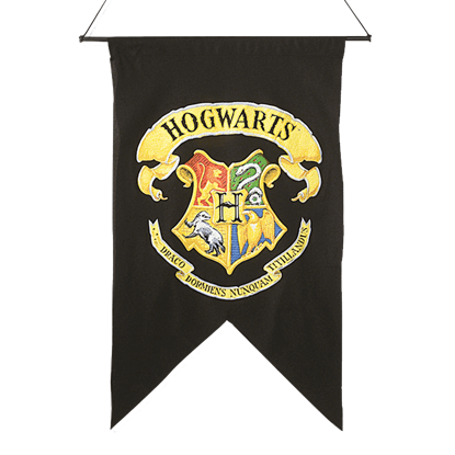 Hogwarts Printed Wall Banner from Harry Potter