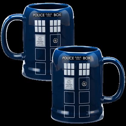 Doctor Who TARDIS Tall Mug