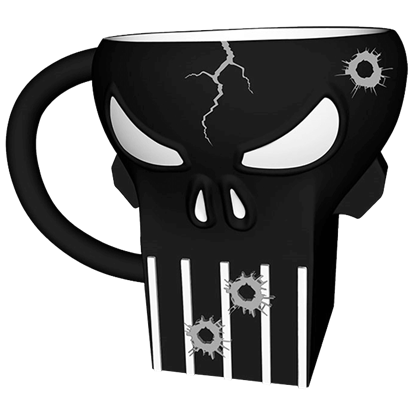 Marvel Punisher Sculpted Mug