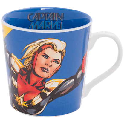 Captain Marvel Ceramic Mug