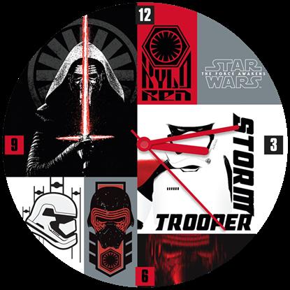 Star Wars The Force Awakens Wall Clock