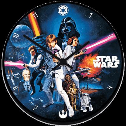 Classic Star Wars Wall Clock