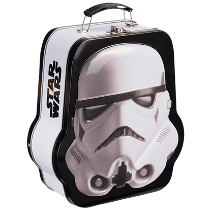 Star Wars Embossed Stormtrooper Tin Tote